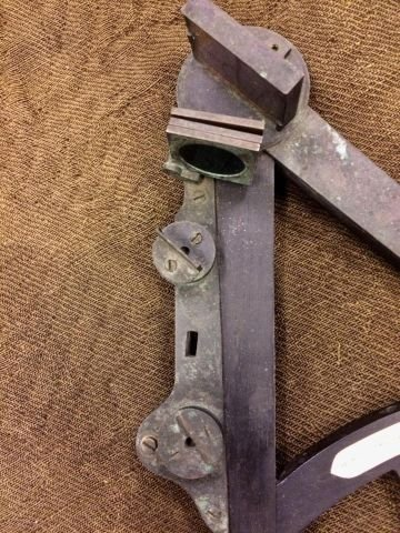 (19th c) SPENCER BROWNING & RUST OCTANT LONDON - 11