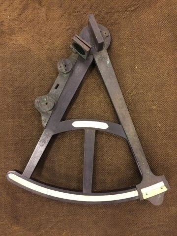 (19th c) SPENCER BROWNING & RUST OCTANT LONDON - 9