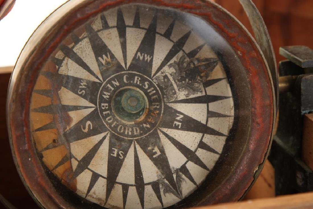 C.R. SHERMAN NEW BEDFORD DRY COMPASS - 5