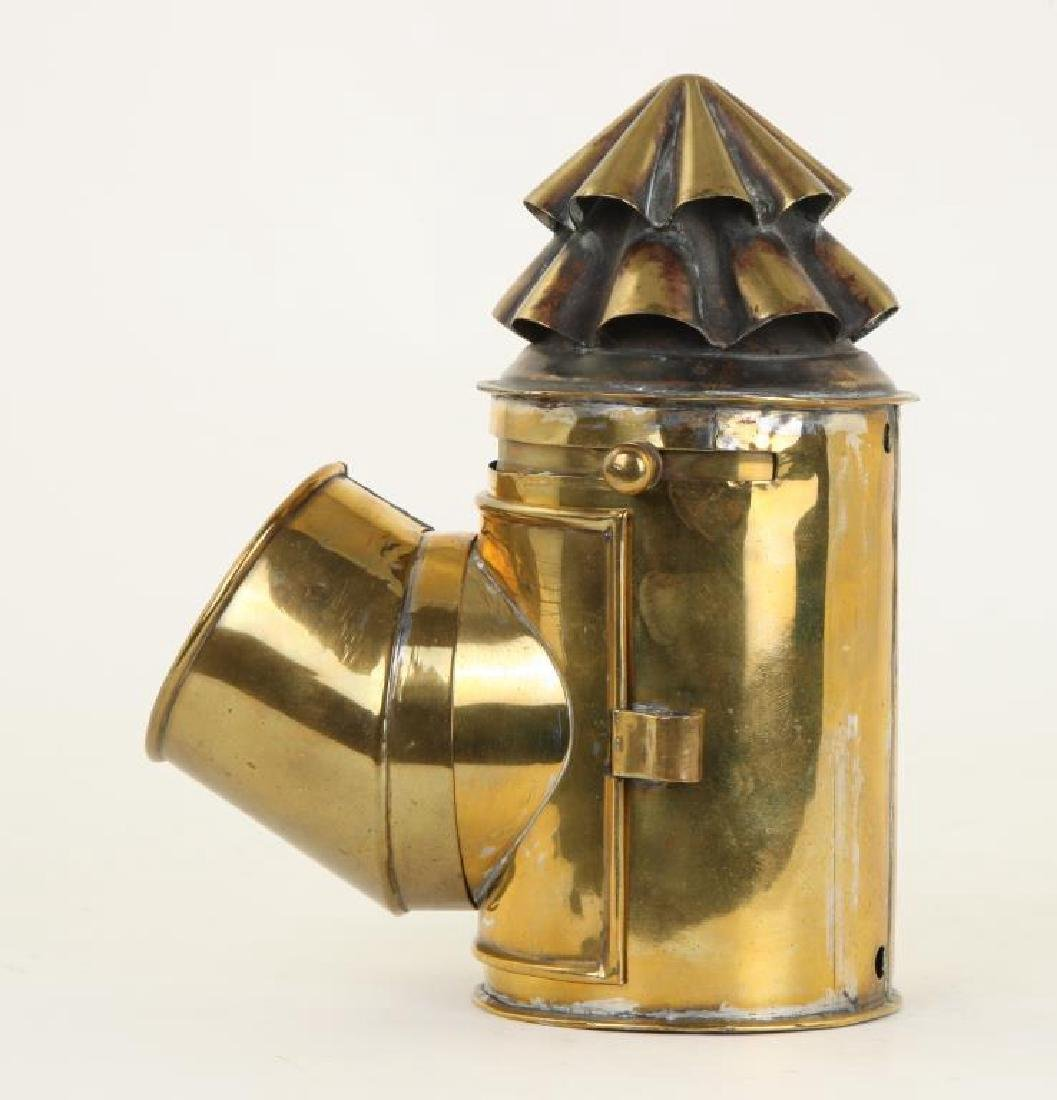 BRASS NAVIGATOR'S LAMP