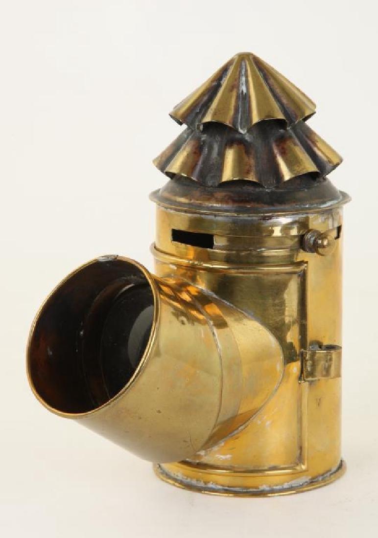 BRASS NAVIGATOR'S LAMP - 2
