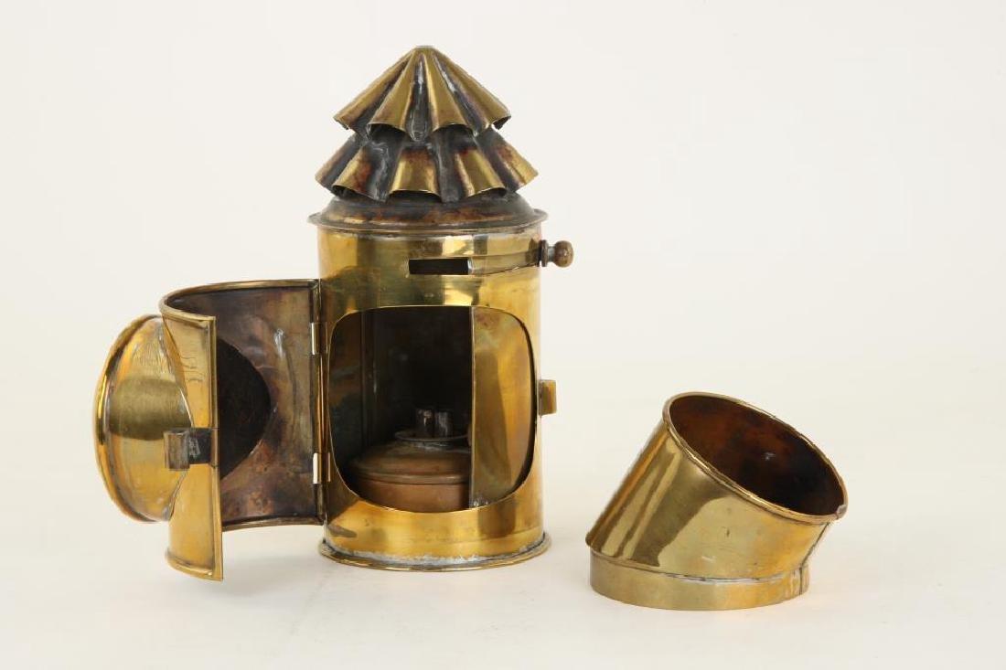 BRASS NAVIGATOR'S LAMP - 3