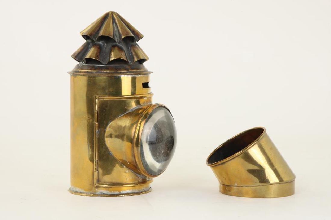 BRASS NAVIGATOR'S LAMP - 4