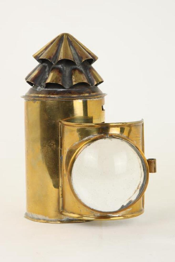 BRASS NAVIGATOR'S LAMP - 5