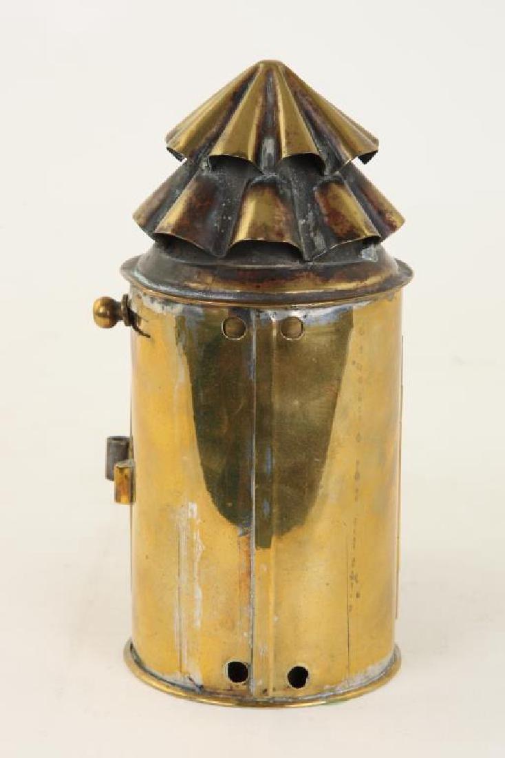 BRASS NAVIGATOR'S LAMP - 6
