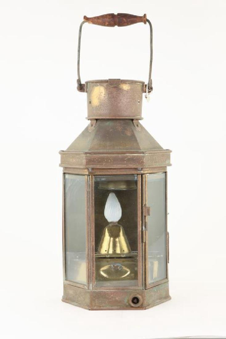 BRASS BULK HEAD LAMP