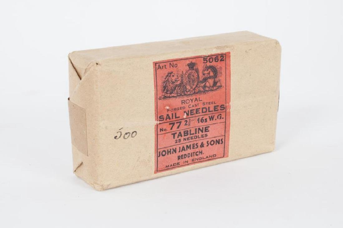 SAIL NEEDLES by JOHN JAMES & SONS ENGLAND