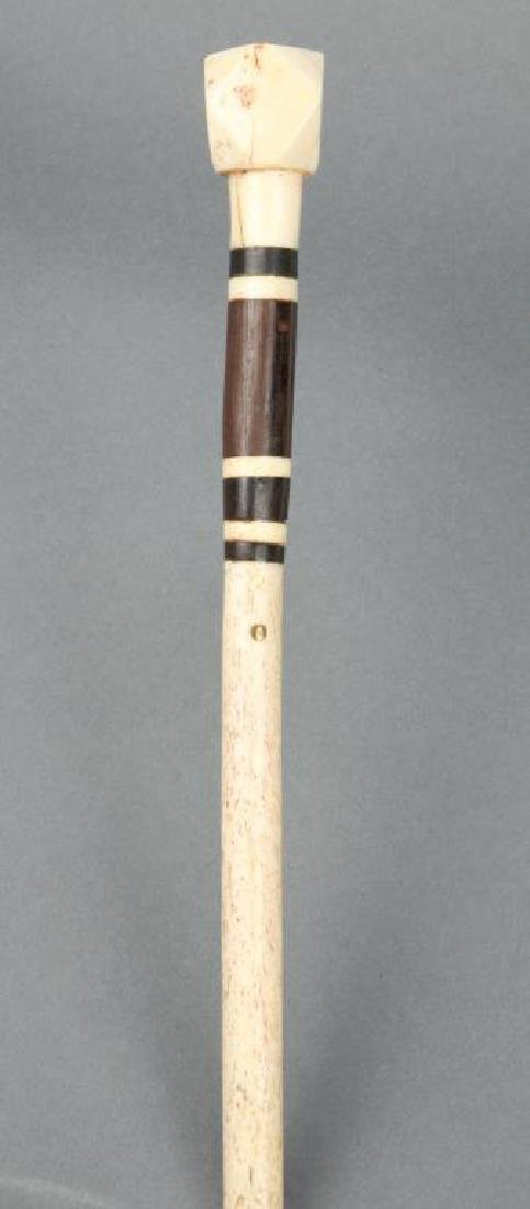 WHALEBONE WALKING STICK - 2