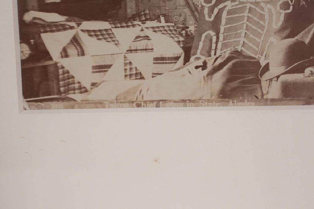 (2) (19th/ 20th c) PHOTOGRAPHS OF NATIVE AMERICANA - 2