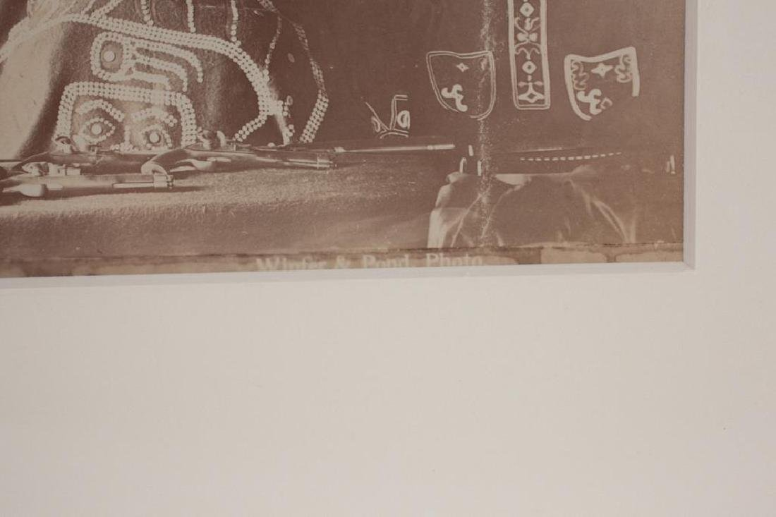 (2) (19th/ 20th c) PHOTOGRAPHS OF NATIVE AMERICANA - 3