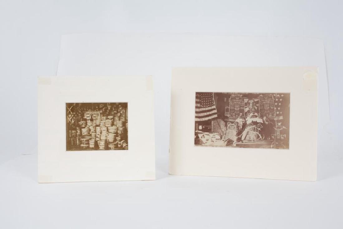 (2) (19th/ 20th c) PHOTOGRAPHS OF NATIVE AMERICANA - 4