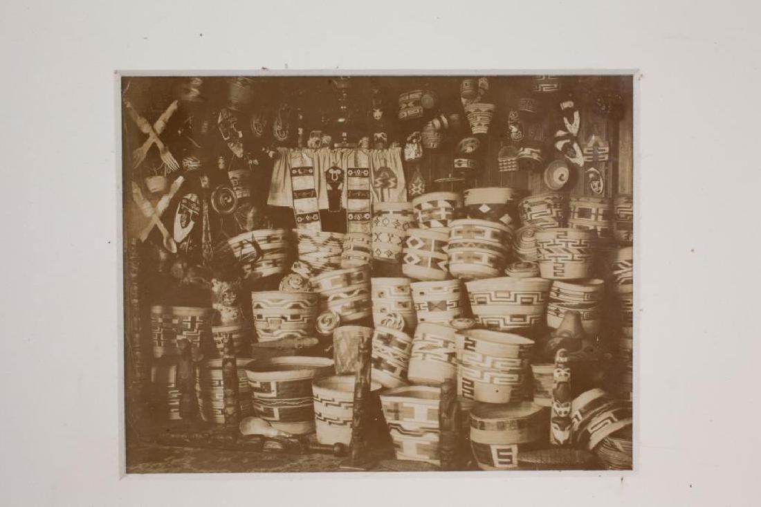 (2) (19th/ 20th c) PHOTOGRAPHS OF NATIVE AMERICANA - 5