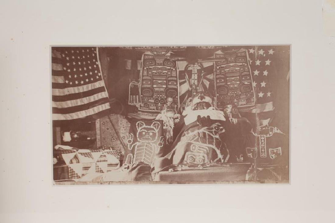 (2) (19th/ 20th c) PHOTOGRAPHS OF NATIVE AMERICANA - 6