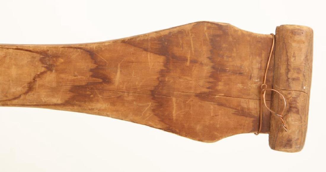 PAIR OF PACIFIC NORTHWEST CANOE PADDLES c.1890 - 3