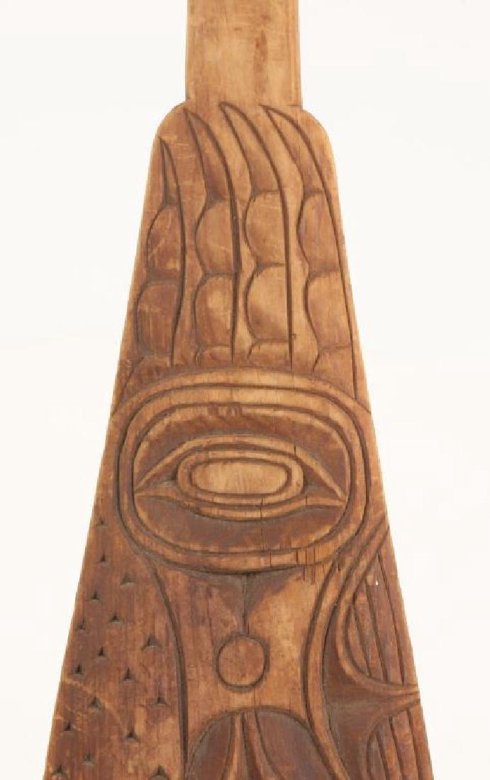 PAIR OF PACIFIC NORTHWEST CANOE PADDLES c.1890 - 5