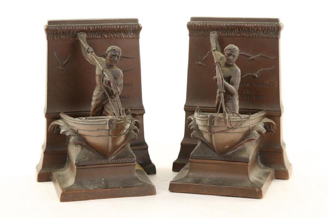 """MOBY DICK"" BOOKENDS"