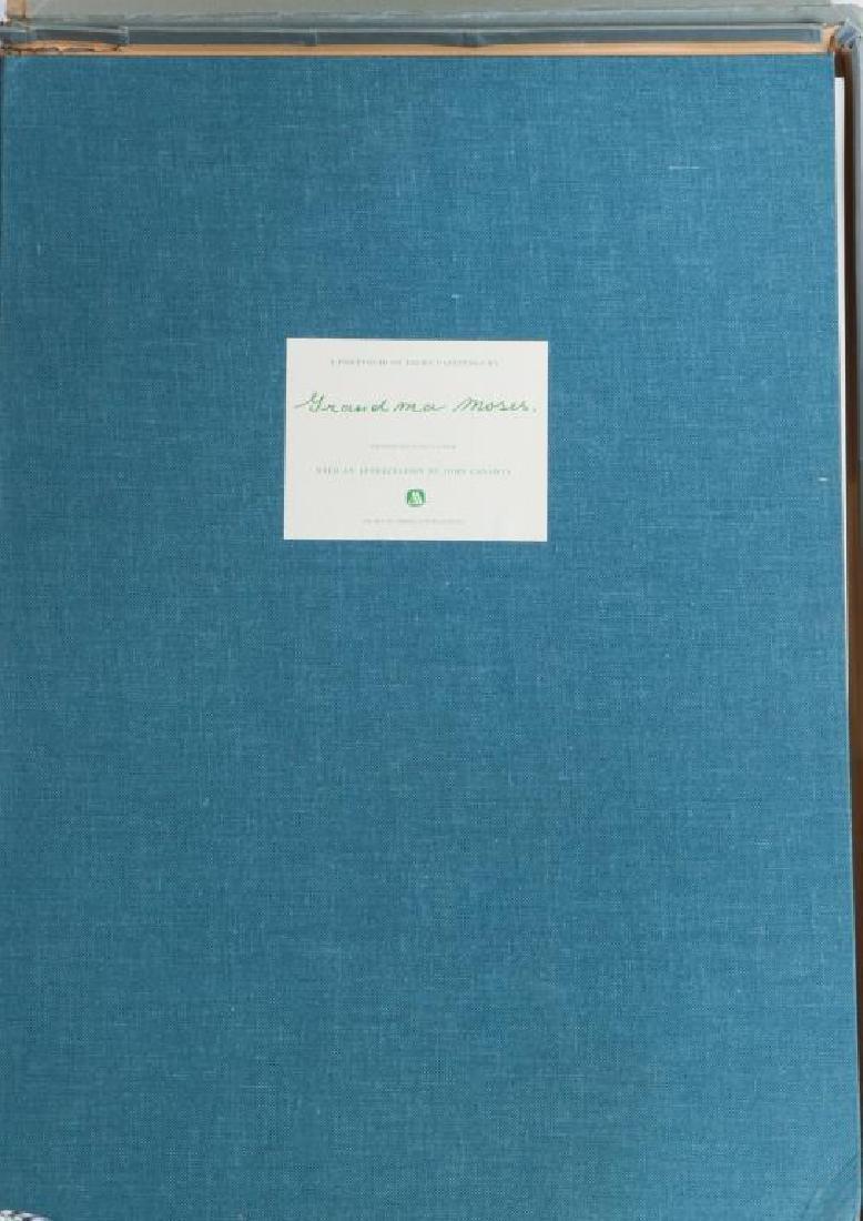 GRANDMA MOSES / PORTFOLIO / JOHN CANADAY (6) Prints in