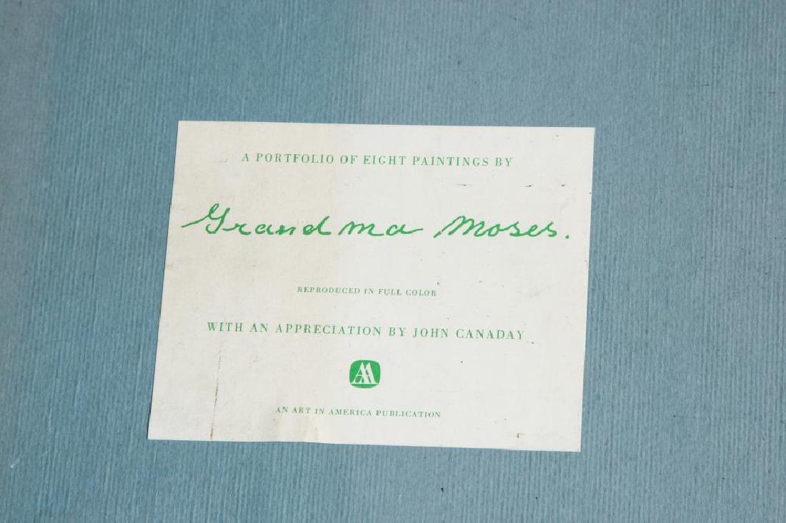 GRANDMA MOSES / PORTFOLIO / JOHN CANADAY (6) Prints in - 2