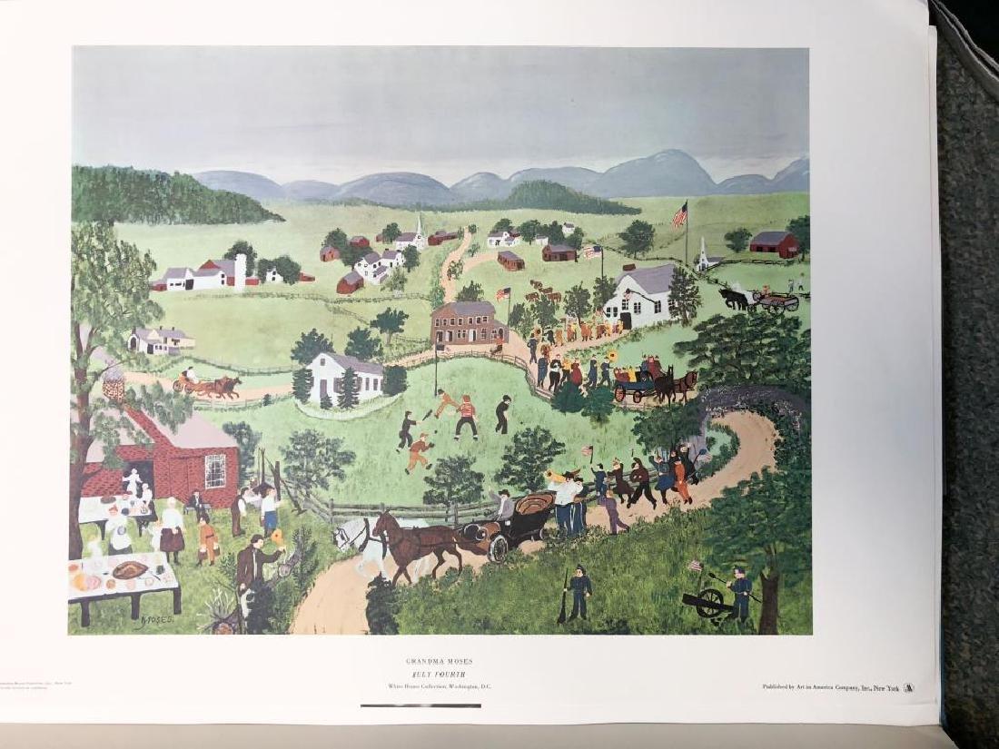 GRANDMA MOSES / PORTFOLIO / JOHN CANADAY (6) Prints in - 3