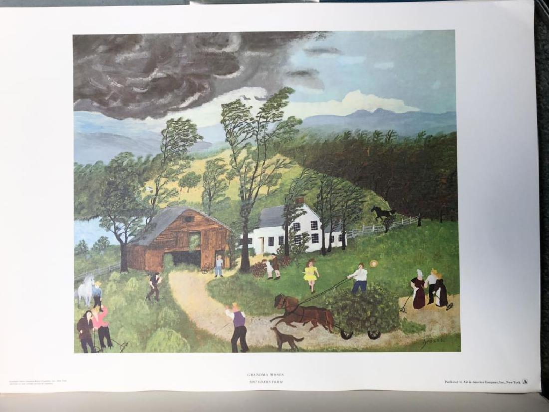 GRANDMA MOSES / PORTFOLIO / JOHN CANADAY (6) Prints in - 5