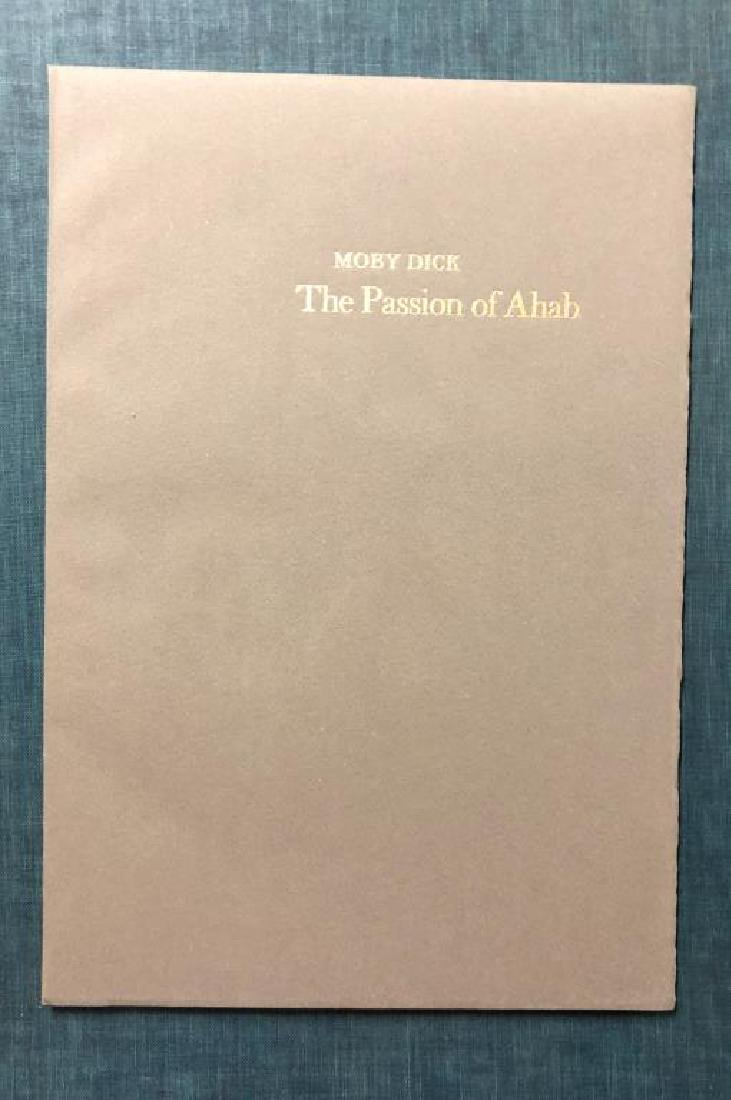 THE PASSION OF AHAB 26 Lithographs by Benton Spruance. - 6