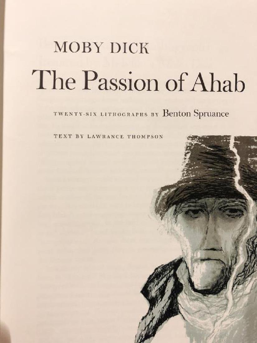 THE PASSION OF AHAB 26 Lithographs by Benton Spruance. - 7