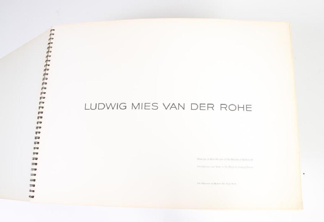 MIES VAN DER ROHE 1969 MUSEUM OF MODERN ART - 4