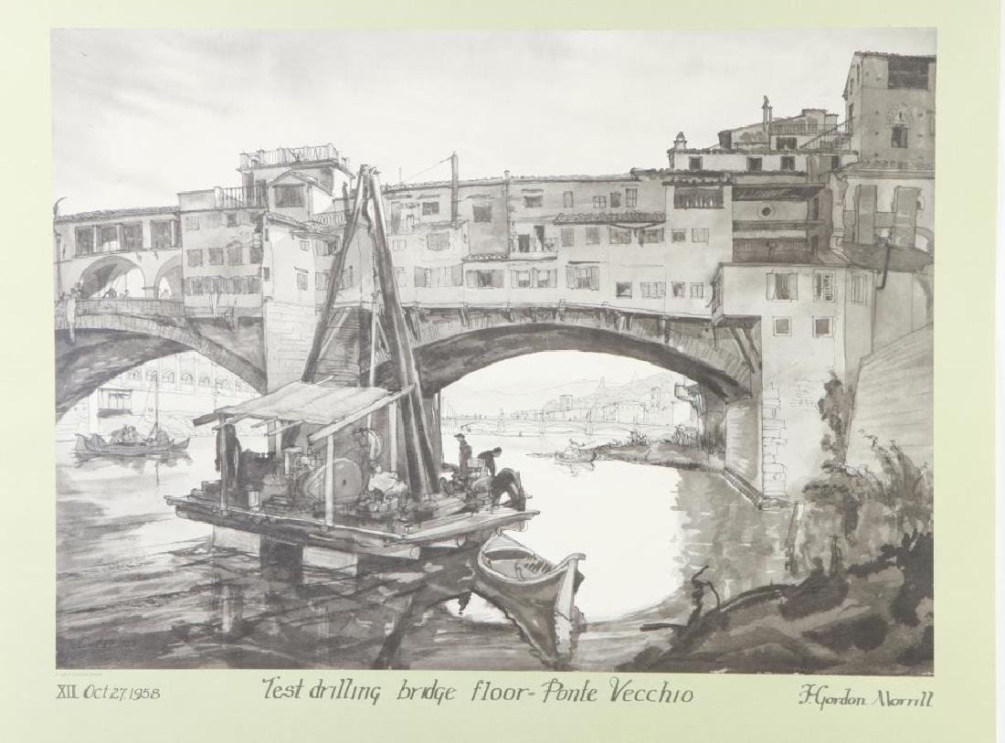 BRIDGES OF FLORENCE 1937-1987 / F. GORDON MORRILL
