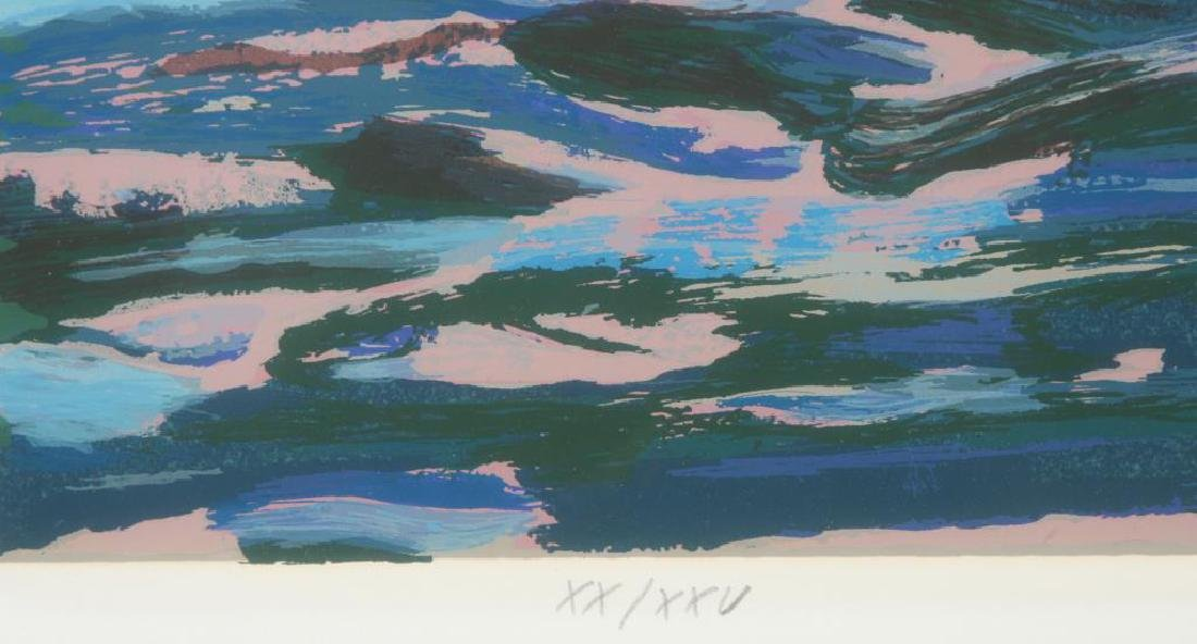 "MARCO SASSONE (b.1942) ""Marina"" serigraph in color 32 x - 2"