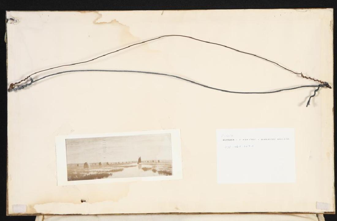 "FRANK THURLO (1837-1913) ""Catboat on the Plum Island - 6"