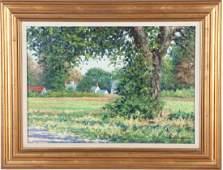 """ROBERT SCOTT JACKSON (b. 1946) """"Early Summer Garden"""""""