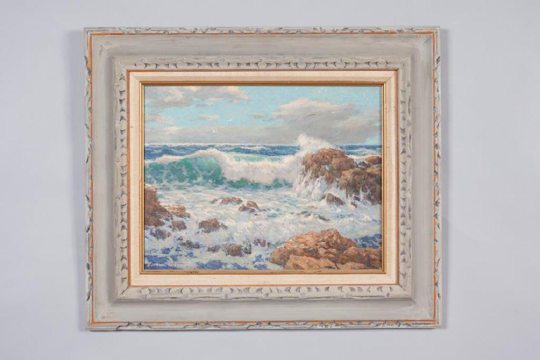 "SVEN OHRVEL CARLSON (1911-2006) ""Bass Rocks Gloucester"""