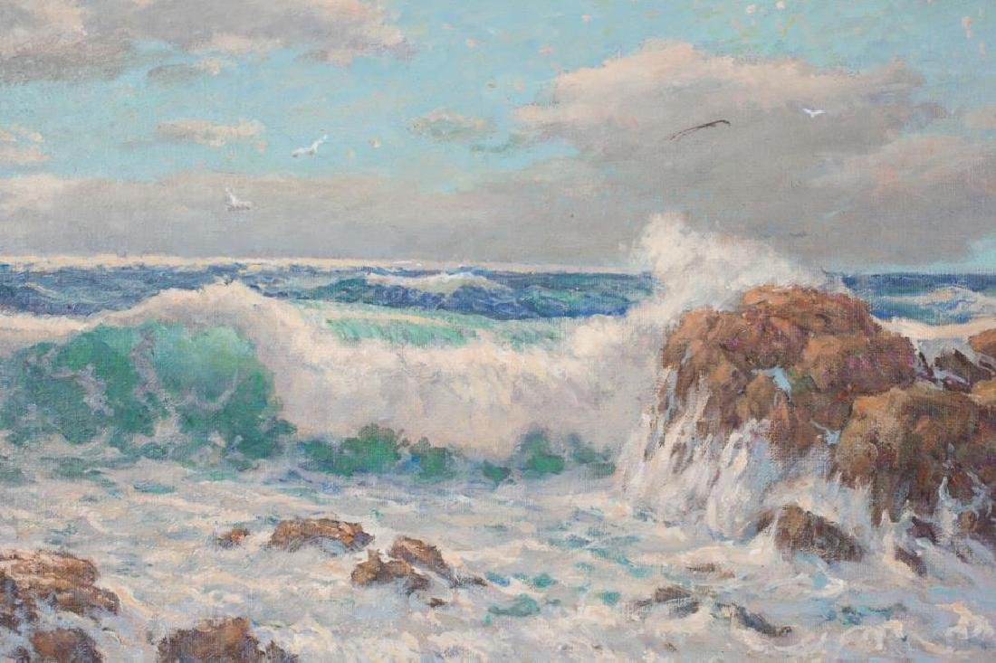 "SVEN OHRVEL CARLSON (1911-2006) ""Bass Rocks Gloucester"" - 3"