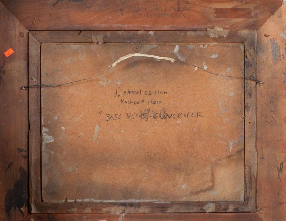 "SVEN OHRVEL CARLSON (1911-2006) ""Bass Rocks Gloucester"" - 4"