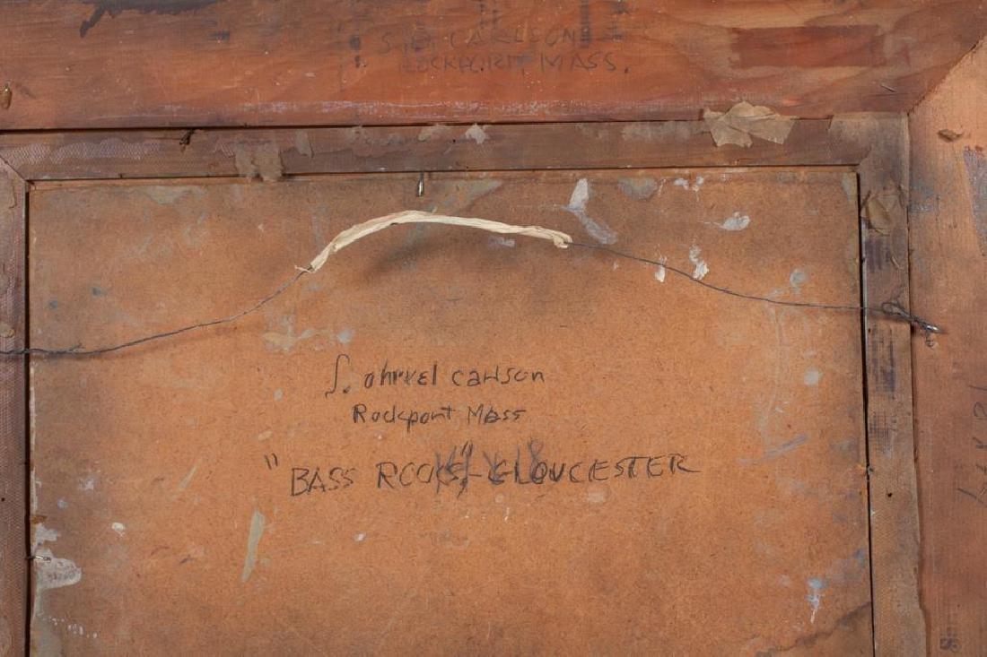 "SVEN OHRVEL CARLSON (1911-2006) ""Bass Rocks Gloucester"" - 5"
