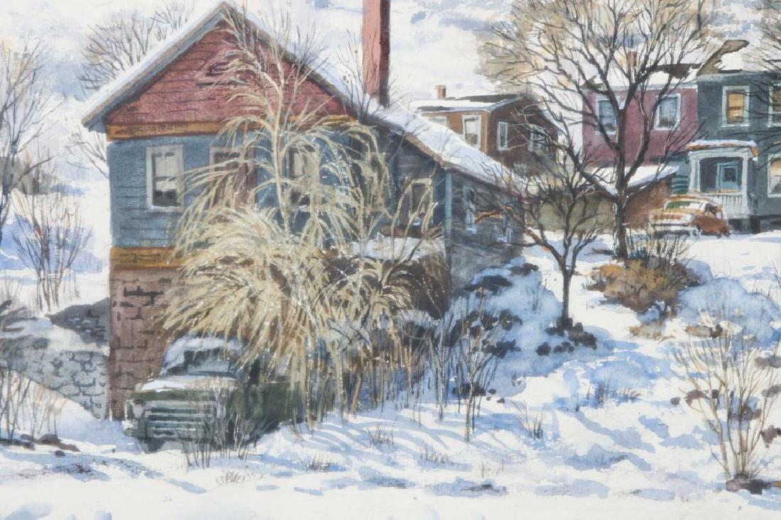 "SVEN OHRVEL CARLSON (1911-2006) ""American Landscape"" - 2"