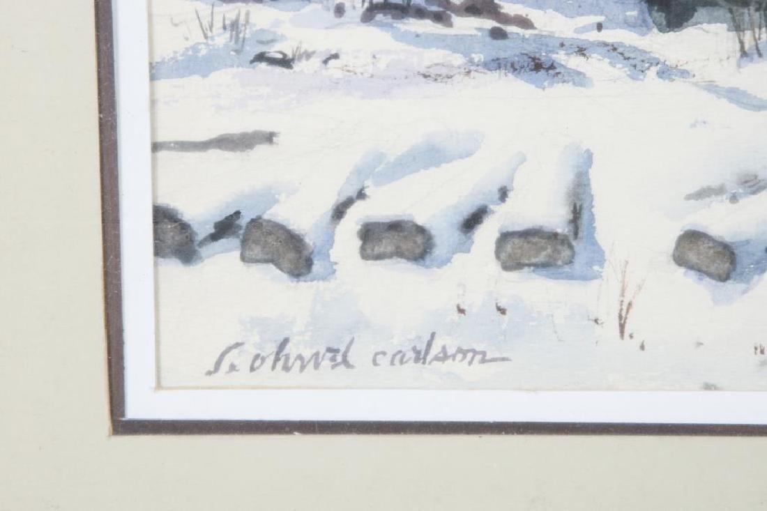 "SVEN OHRVEL CARLSON (1911-2006) ""American Landscape"" - 3"