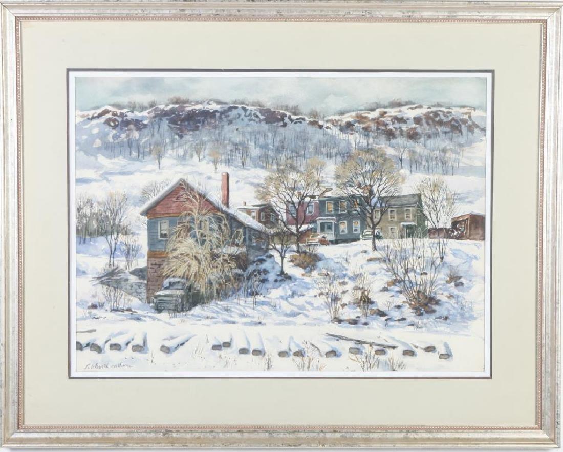 "SVEN OHRVEL CARLSON (1911-2006) ""American Landscape"" - 4"