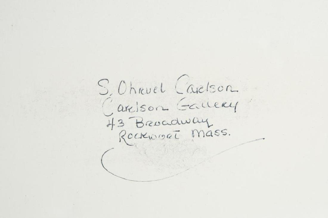 "SVEN OHRVEL CARLSON (1911-2006) ""American Landscape"" - 6"