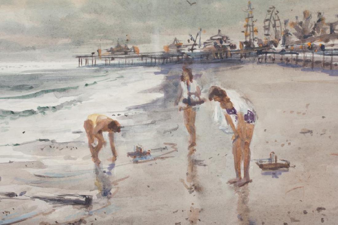 "SVEN OHRVEL CARLSON (1911-2006) ""Gathering Shells"" - 2"