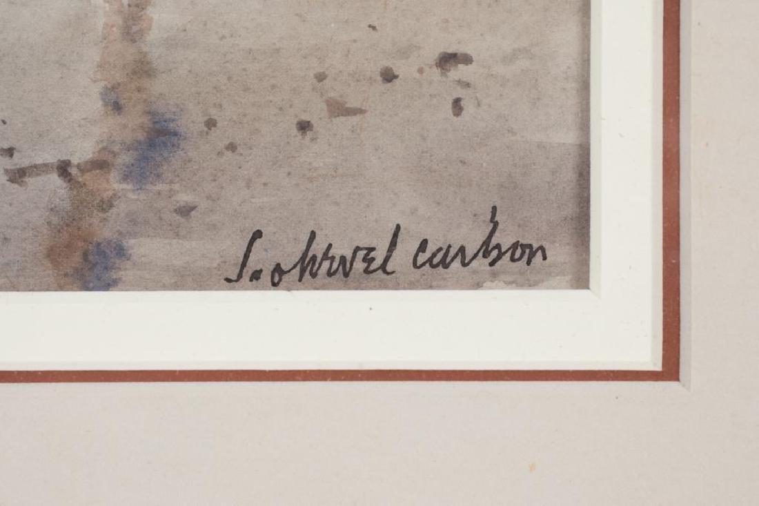"SVEN OHRVEL CARLSON (1911-2006) ""Gathering Shells"" - 4"
