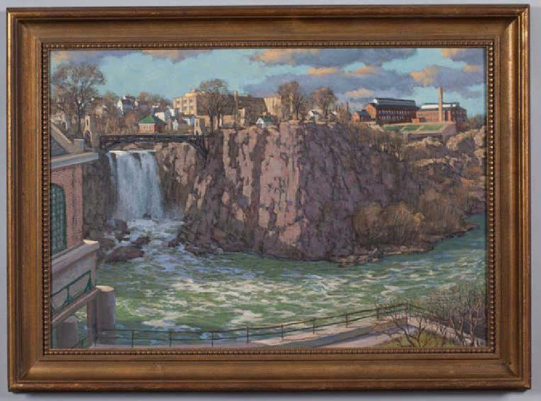 "SVEN OHRVEL CARLSON (1911-2006) ""Patterson NJ Dam and"