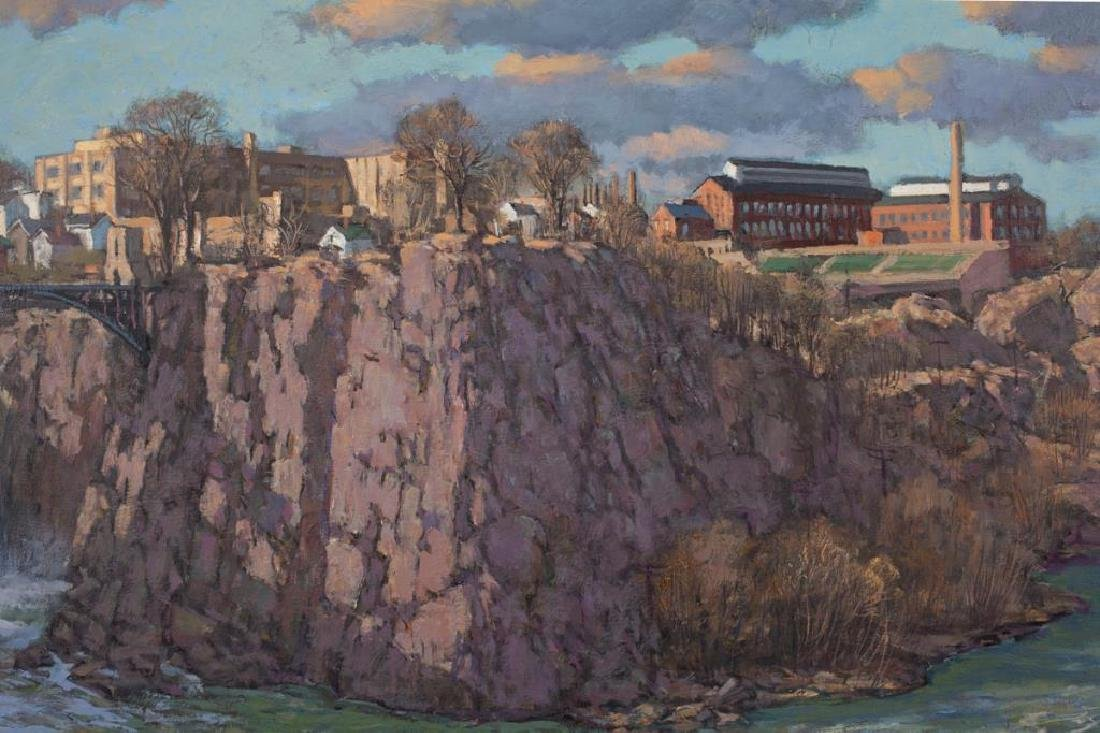 "SVEN OHRVEL CARLSON (1911-2006) ""Patterson NJ Dam and - 2"