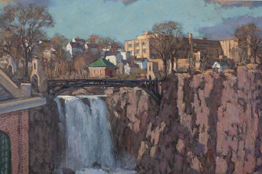 "SVEN OHRVEL CARLSON (1911-2006) ""Patterson NJ Dam and - 3"