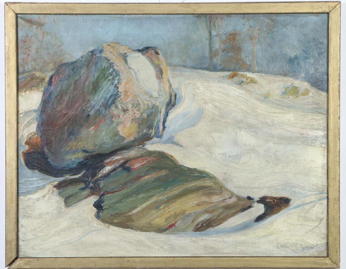 "LEO HELMHOLZ JUNKER (1882-1974) ""Rock Outcroppings in"
