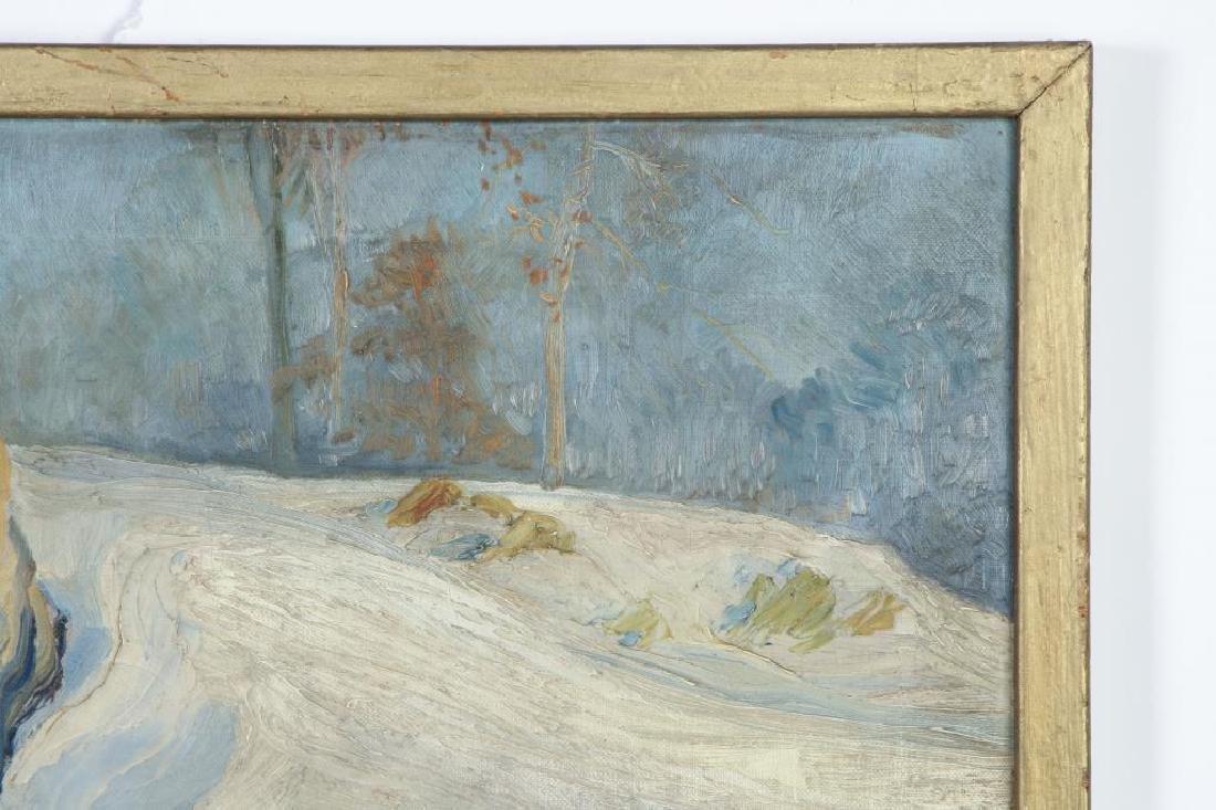 "LEO HELMHOLZ JUNKER (1882-1974) ""Rock Outcroppings in - 3"