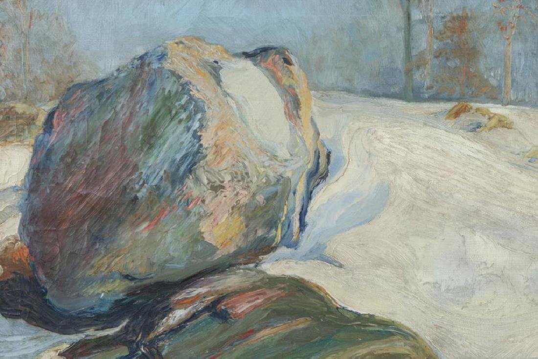 "LEO HELMHOLZ JUNKER (1882-1974) ""Rock Outcroppings in - 5"