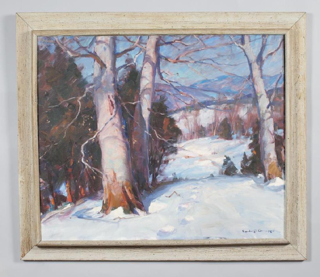 "EMILE ALBERT GRUPPE (1896-1978) ""New England Winter"""