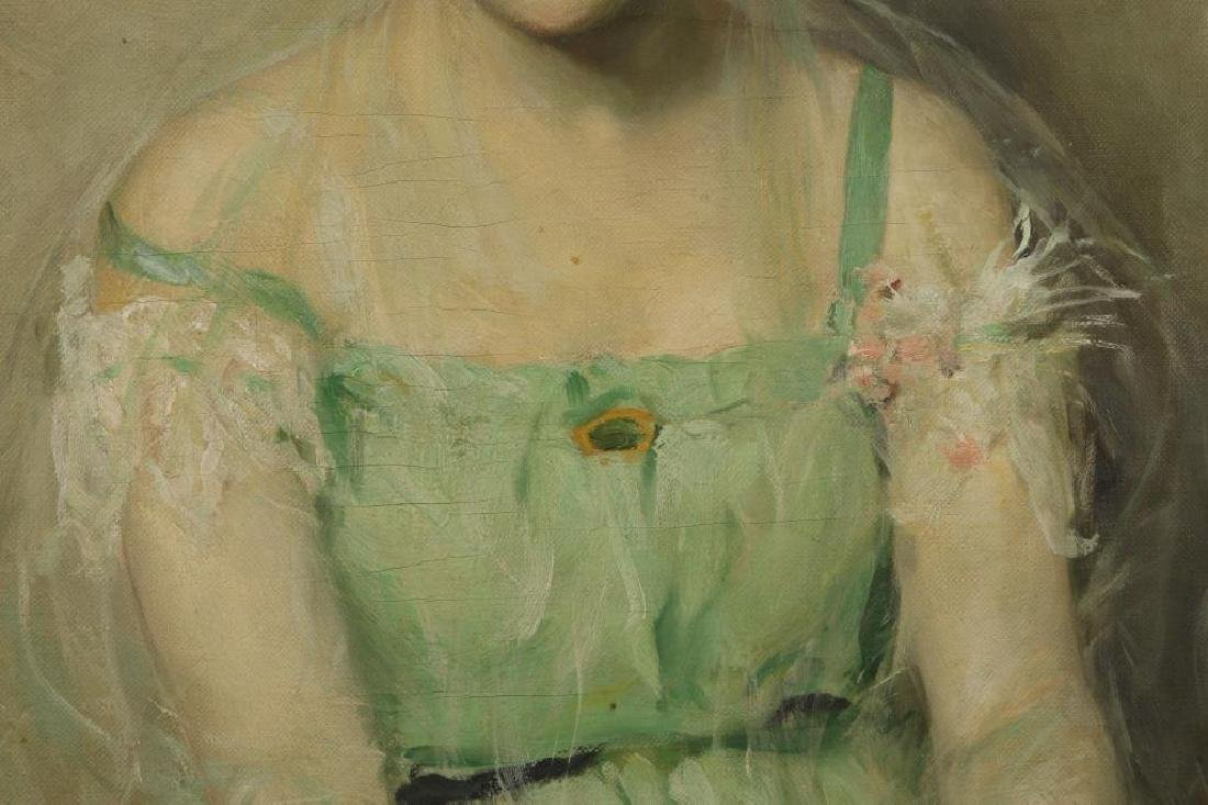"SCOTT C. CARBEE (1860-1946) ""Portrait of a Young Woman"" - 4"