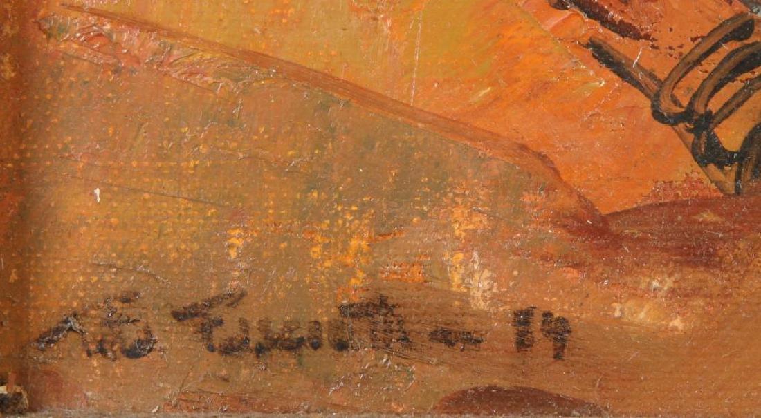 "TITTA FASCIOTTI (1927-1993) ""Xhosa Women"" oil on - 2"